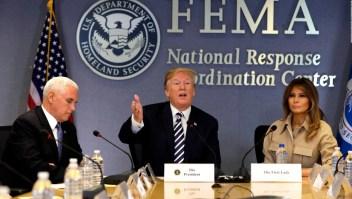 Trump asegura que EE.UU. está preparado para huracanes de 2018