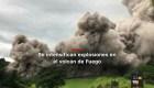 #MinutoCNN: Informan de nuevos flujos en volcán de Fuego