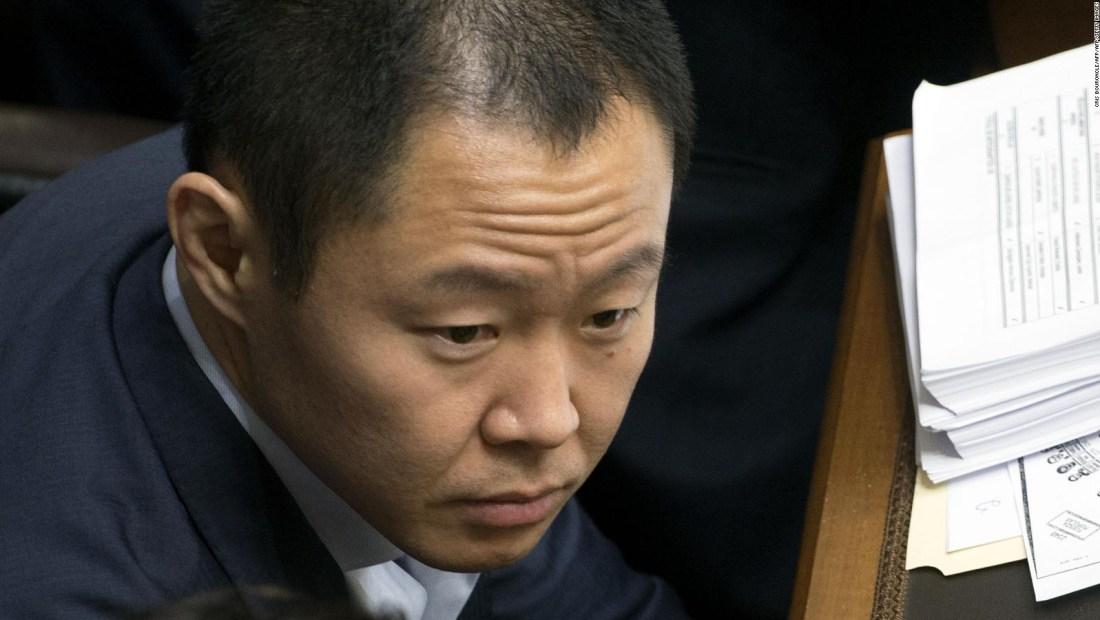 Kenji Fujimori considera ilegal su suspensión como congresista