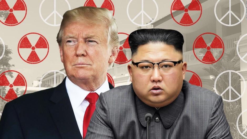 Trump advierte que podría abandonar reunión con Kim Jong Un