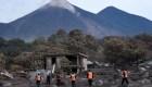Siguen desaparecidas casi 200 personas por volcán de Fuego