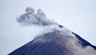 La amenaza del volcán de Fuego no disminuye
