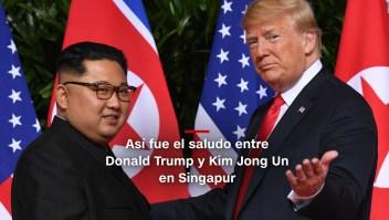 #MinutoCNN: Empieza cumbre histórica entre Trump y Kim