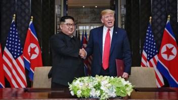Kim Jung Un a Trump: Decidimos dejar el pasado atrás