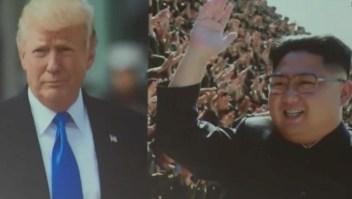 Trump muestra un tráiler de la paz a Kim Jong Un