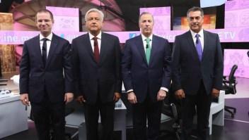 Así cerraron los candidatos el tercer debate presidencial en México