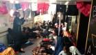 Así viven los migrantes a bordo del barco Aquarius
