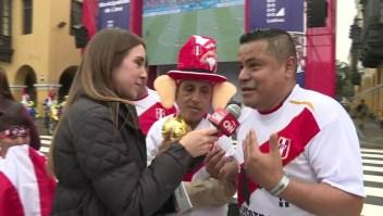 Hinchas peruanos: Estamos muy emocionados por el Mundial