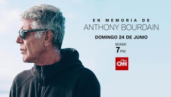 CNN rinde homenaje a la vida de Anthony Bourdain