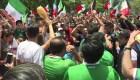 """La Ciudad de México celebra el triunfo del """"Tri"""""""