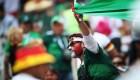México celebra triunfo sobre Alemania
