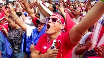 Así vivió Panamá su primer partido en Rusia 2018