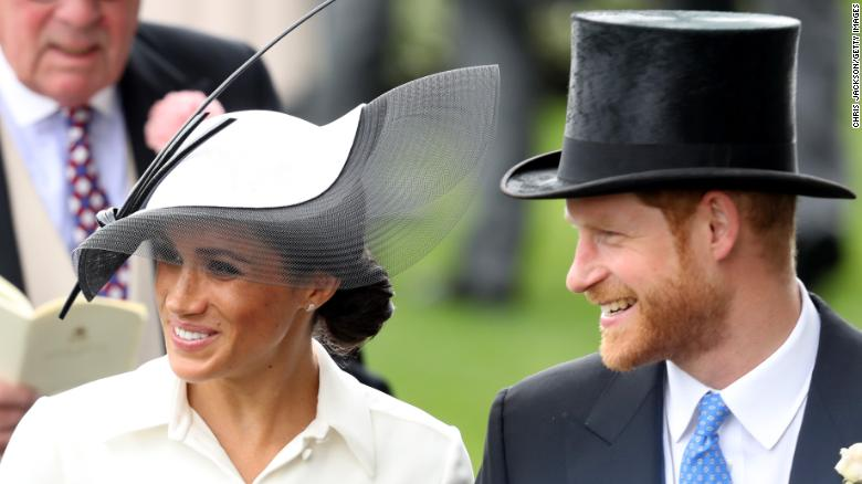 El duque y la duquesa de Sussex en el Royal Ascot.