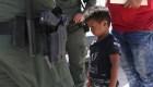 El dramático testimonio de separación familiar en la frontera
