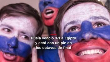 #MinutoCNN: Rusia venció 3-1 a Egipto