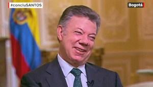 Santos hace balance de su gobierno: He sido un poco churchilliano