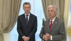 Tabaré Vázquez inauguró la nueva embajada de Uruguay en Argentina