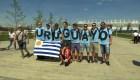 #LaImagenDelDía: celebración de Uruguay en la Copa del Mundo