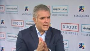 Iván Duque: No estoy proponiendo hacer trizas los acuerdos de paz