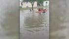 Inundaciones afectan a Texas a un año del huracán Harvey