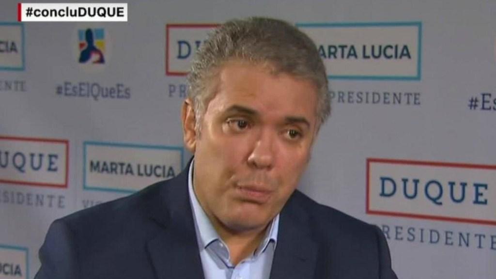 Duque: Colombia necesita la consulta anticorrupción