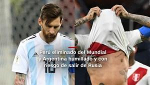 #MinutoCNN: Perú y Argentina lloran derrotas en Rusia 2018