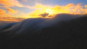 #LaImagenDelDía: un mar de nubes en China