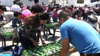 Imponen récord Guinness de futbolito en Ciudad de México