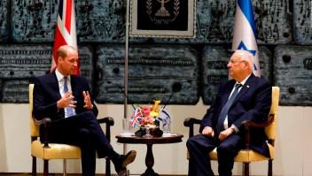 Primera visita de un miembro de la familia real británica a Israel