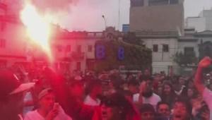 Así rugió Lima con el gol de Guerrero