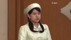 Princesa de Japón renuncia a su estatus real por amor