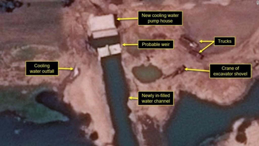Imágenes satélite muestran a Corea del Norte renovando instalaciones nucleares