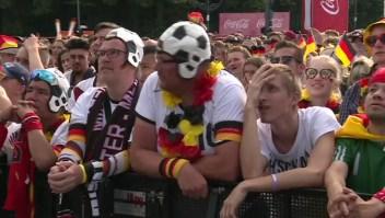 En silencio, así está Berlin tras eliminación de Alemania