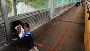 No quiero volver a Honduras, dice niño inmigrante
