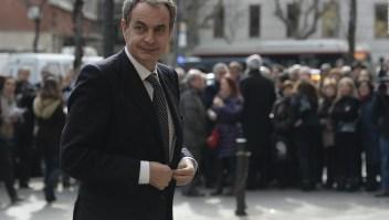 ¿Qué dijo Rodríguez Zapatero sobre la ayuda internacional a Venezuela?