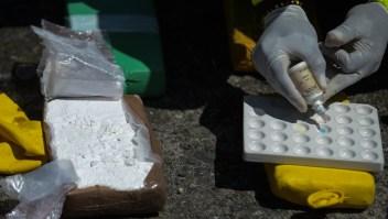 Imagen de archivo de cocaína decomisada en Colombia con destino a Europa. (Crédito: RAUL ARBOLEDA/AFP/Getty Images)