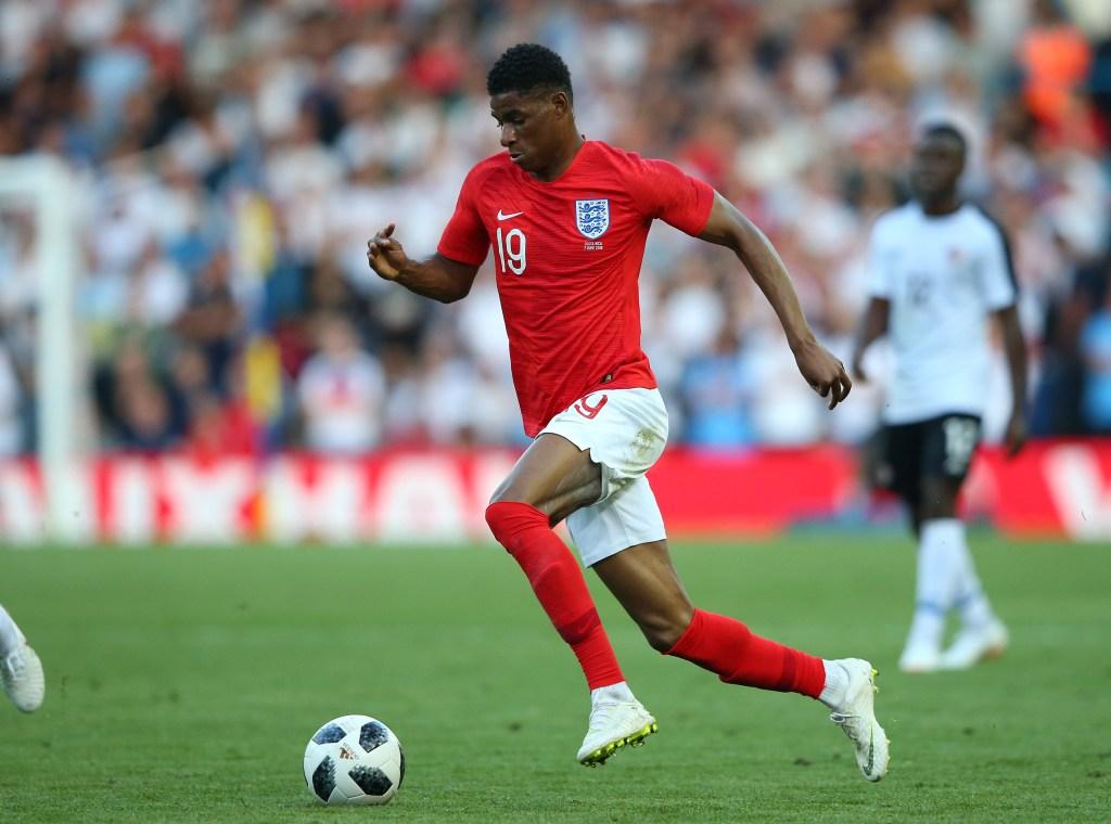 Marcus Rashford juega en el Manchester United y participará en el Mundial de Fútbol Rusia 2018 con Inglaterra. Es uno de sus 11 internacionales. (Crédito: Alex Livesey/Getty Images)