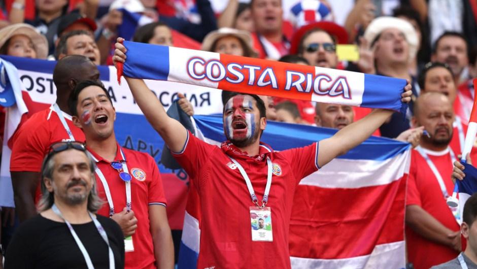 Los ticos llegan al partido contra Brasil con cero puntos tras perder contra Serbia en su debut en Rusia 2018. (Crédito: Michael Steele/Getty Images)