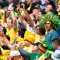 Brazil fans cheer before the Russia 2018 World Cup Group E football match between Brazil and Costa Rica at the Saint Petersburg Stadium in Saint Petersburg on June 22, 2018. (Photo by GABRIEL BOUYS / AFP) / RESTRICTED TO EDITORIAL USE - NO MOBILE PUSH ALERTS/DOWNLOADS (Photo credit should read GABRIEL BOUYS/AFP/Getty Images)