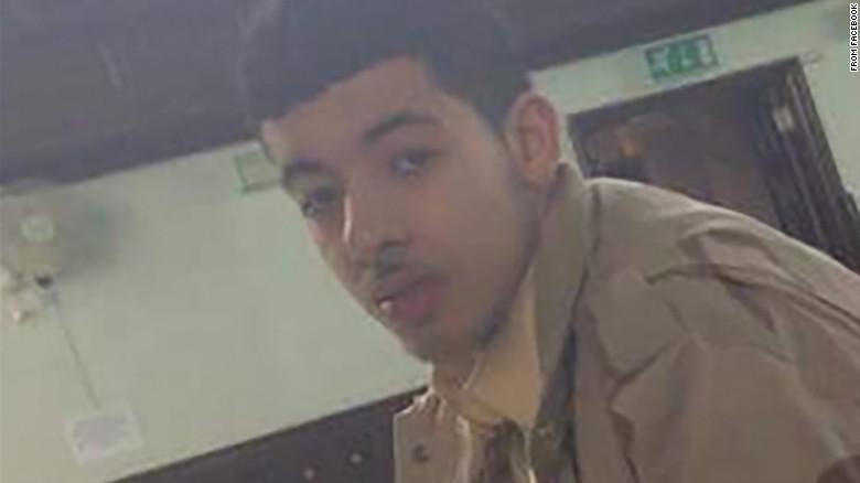 Imagen de Salman Abedi, identificado como el terrorista suicida del atentado en Manchester en 2017
