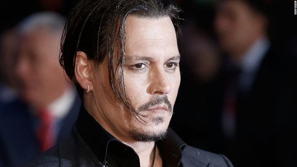 Johnny Depp en una imagen de archivo.