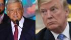 Trump dice que habló por teléfono con AMLO