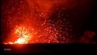 Video muestra un torbellino de lava del volcán Kilauea