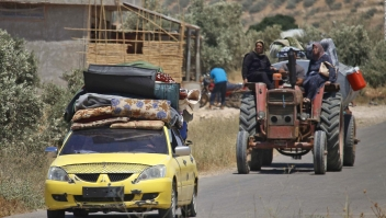 Aumenta dramáticamente el número de desplazados en Siria