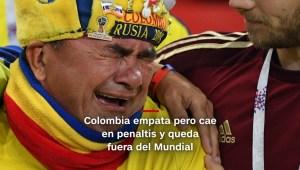 #MinutoCNN: Colombia se va de Rusia tras partido de infarto