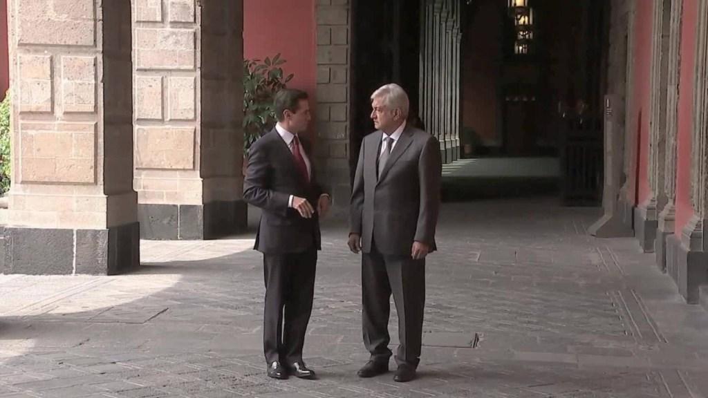 AMLO: Hablé con Peña Nieto sobre la trancisión