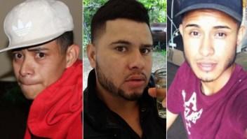 David Ramos Contreras, Juan Garcia Rios Adiel y Arnulfo Ramos están buscados en Estados Unidos por supuestamente secuestrar y violar a dos menores.