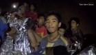 Nuevas imágenes de los niños en la cueva de Tailandia