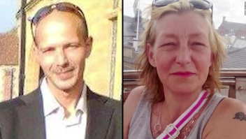 Charles Rowley y Dawn Sturgess, víctimas de agente neurotóxico Novichok en Reino Unido.