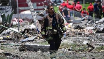 Muerte y dolor tras explosión en pueblo pirotécnico en México
